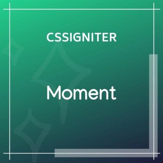 Moment Wordpress Theme