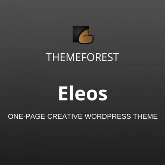 Eleos One Page Creative WordPress Theme