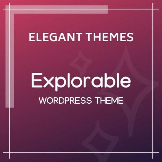 Explorable Elegant Themes
