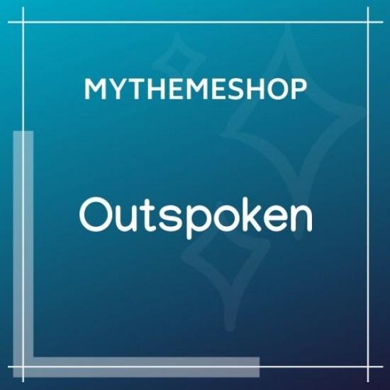 MyThemeShop Outspoken WordPress Theme