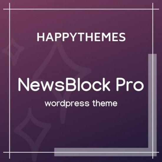 HappyThemes NewsBlock Pro