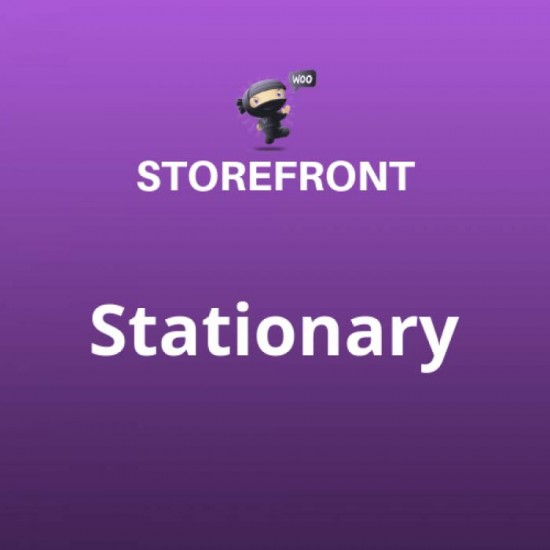 Stationary Storefront Theme