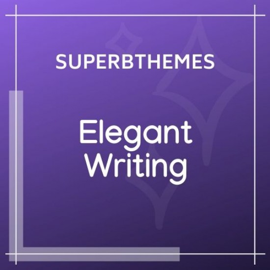 Elegant Writing Theme