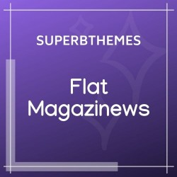 Flat Magazinews Theme