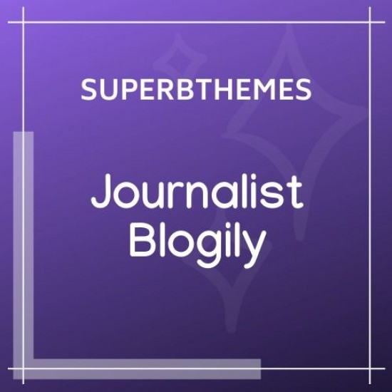 JournalistBlogily Theme