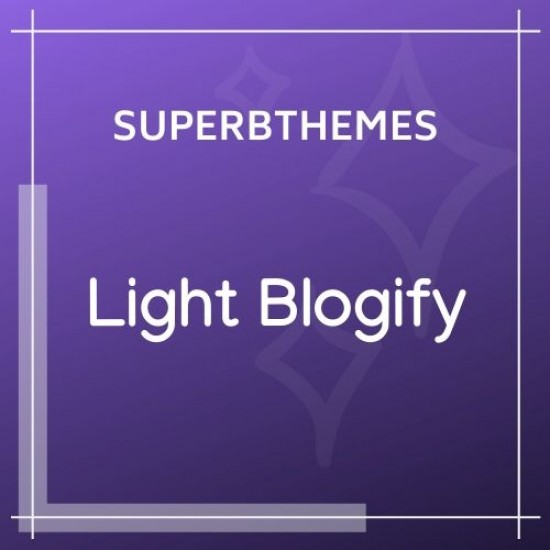 Light Blogify Theme