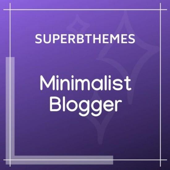 MinimalistBlogger Theme