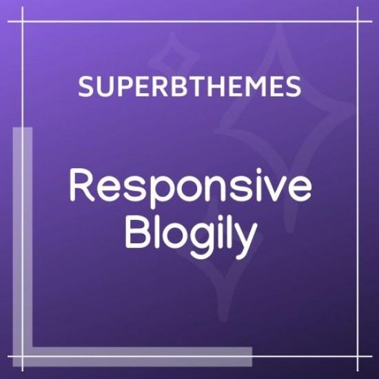 ResponsiveBlogily Theme