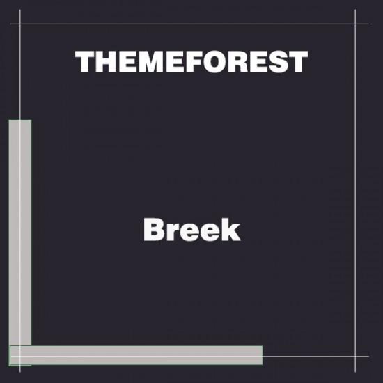 Breek Minimal Masonry Theme for WordPress