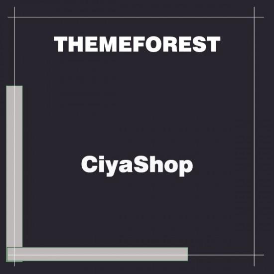 CiyaShop Responsive Multi-Purpose Theme