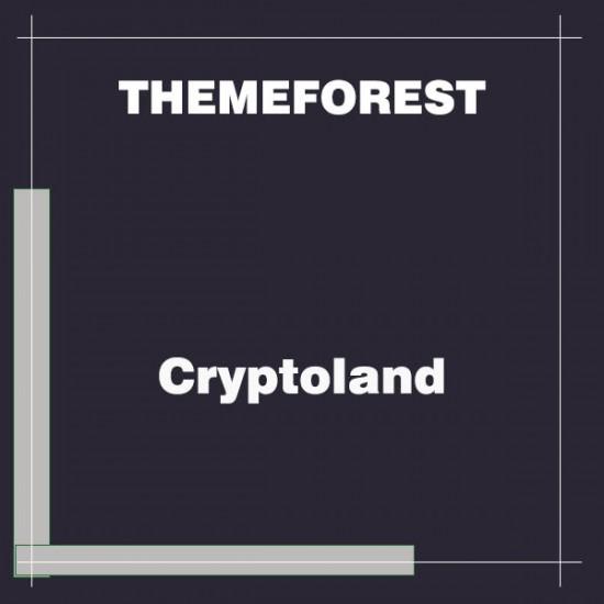 Cryptoland ICO Landing Pages WordPress Theme