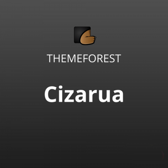 Cizarua Responsive One Page Portfolio Theme