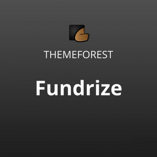 Fundrize Responsive Donation Charity WordPress Theme