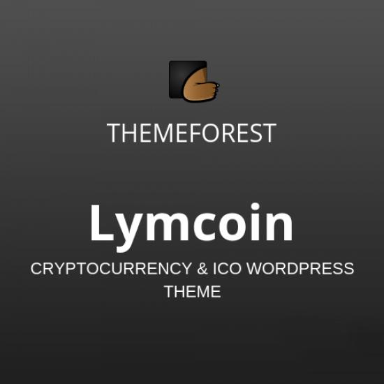 Lymcoin Cryptocurrency ICO WordPress Theme