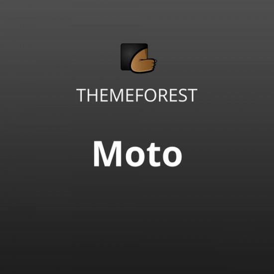 Moto WordPress Landing Page Theme