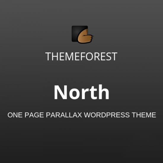North One Page Parallax WordPress Theme