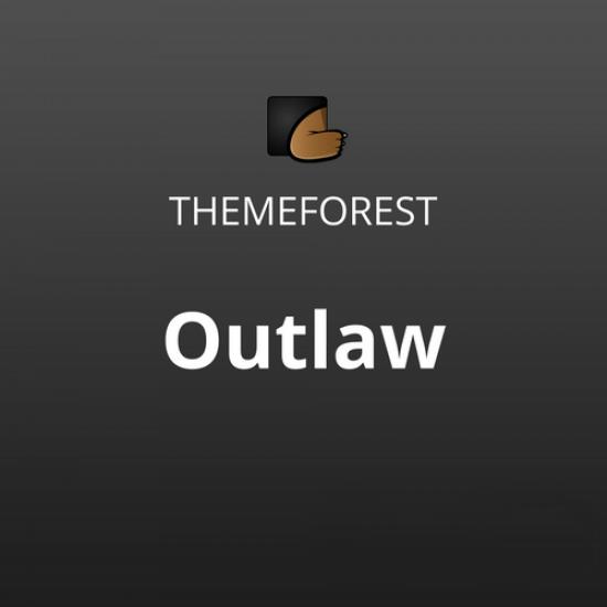 Outlaw Stylish WooCommerce WordPress Theme
