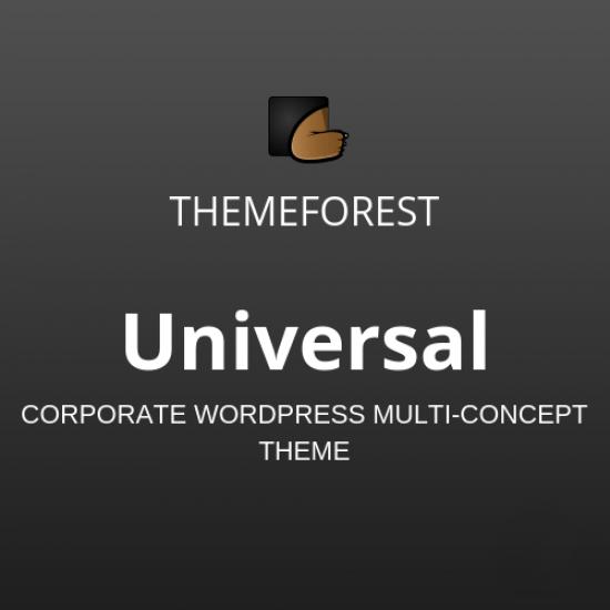 Universal Corporate WordPress Multi-Concept Theme