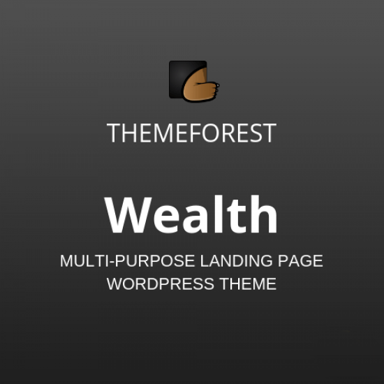Wealth Multi Purpose Landing Page WordPress Theme