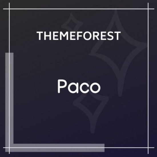 Paco Responsive Woocommerce Digital Theme