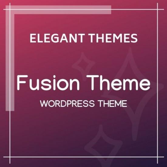 Fusion Elegant Themes Wordpress