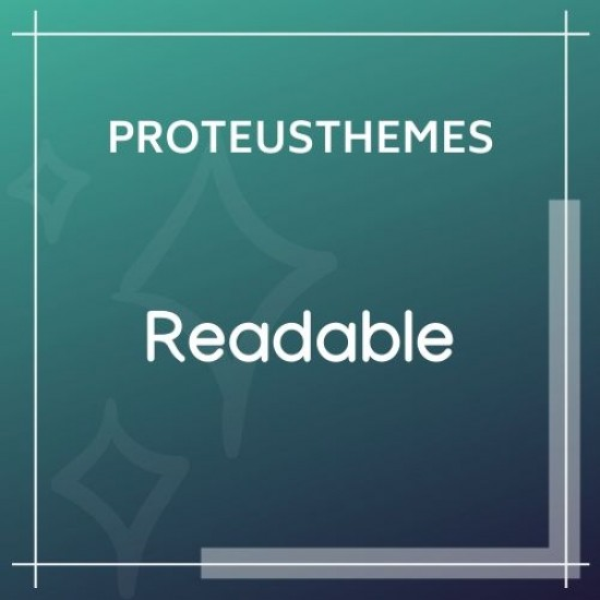Readable Blogging WordPress Theme Focused on Readability