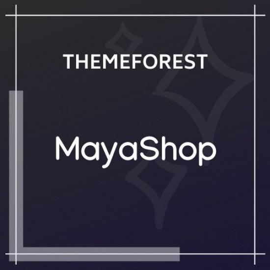 MayaShop Responsive e-Commerce Theme