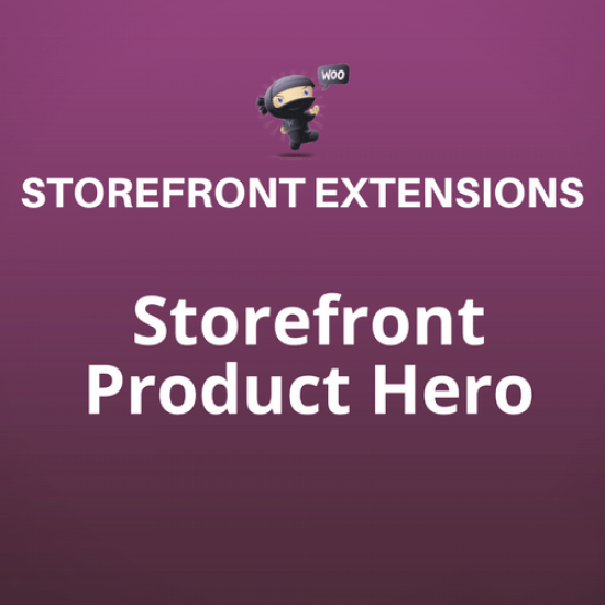 Storefront Product Hero