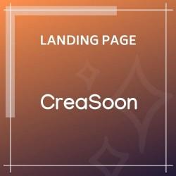 CreaSoon Creative Coming Soon Template
