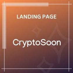 CryptoSoon Coming Soon Template