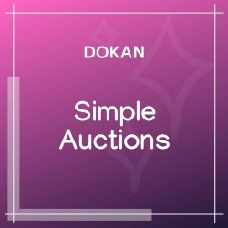 Dokan Simple Auctions Integration 1.5.5