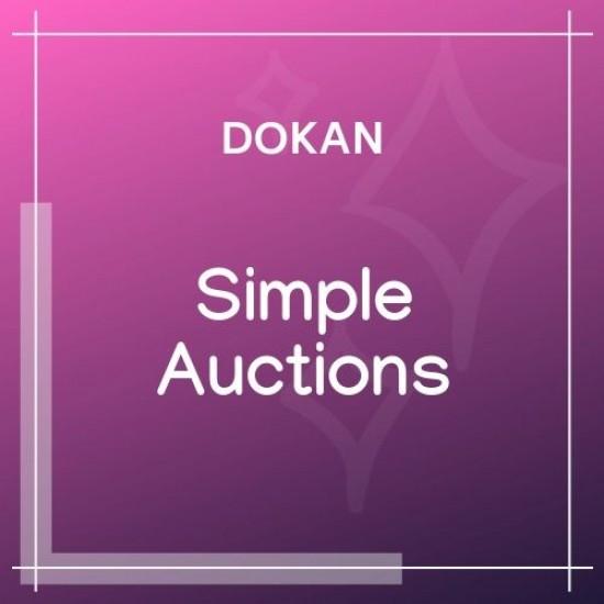 Dokan Simple Auctions Integration 1.5.5