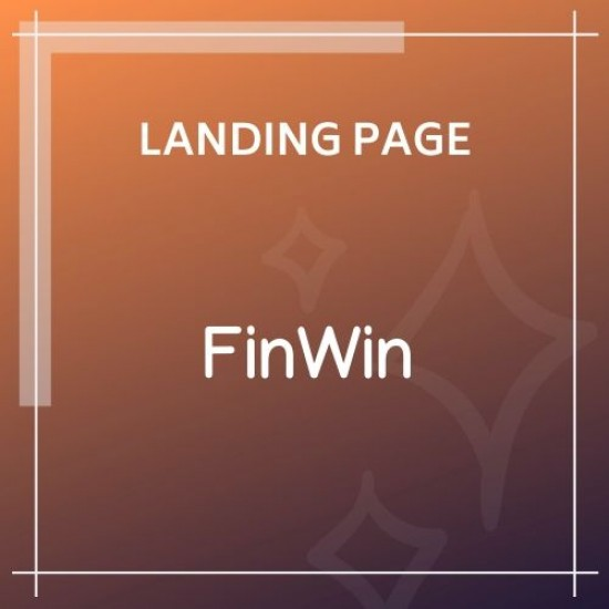 FinWin One Page Business Finance Template