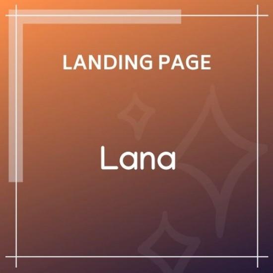 Lana Creative Coming Soon Template