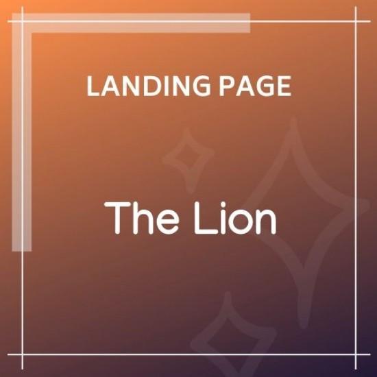 The Lion Multi-Purpose PSD Template