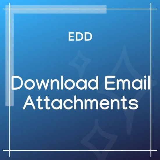 Download Email Attachments for EDD 1.1.1