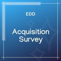 Easy Digital Downloads Acquisition Survey 1.0.2