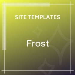 Frost Multipurpose Responsive One Page HTML5