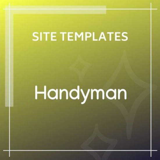 Handyman Responsive HTML Template | Business