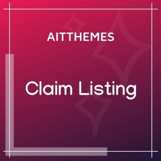 Claim Listing WordPress Plugin
