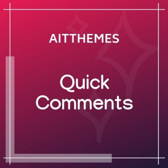 Quick Comments 3.0 WordPress Plugin