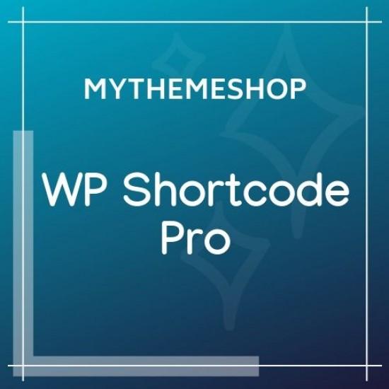 MyThemeShop WP Shortcode Pro 1.1.5