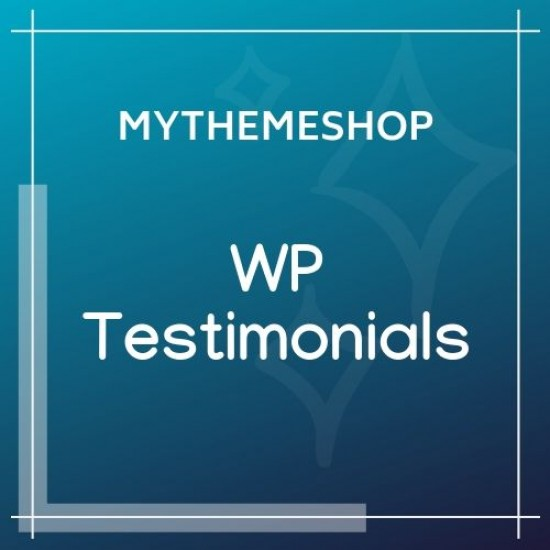 MyThemeShop WP Testimonials 1.0.9