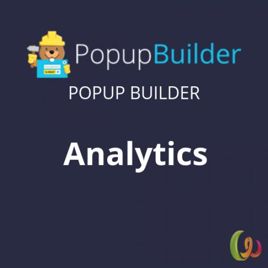 Popup Builder Analytics