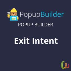 Popup Builder Exit Intent 2.7