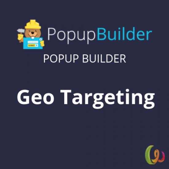Popup Builder Geo Targeting