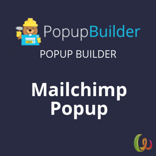 Popup Builder Mailchimp