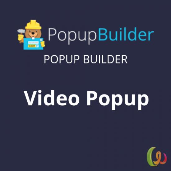 Popup Builder Video
