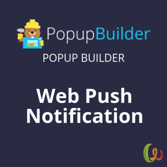 Popup Builder Web Push Notification 1.5