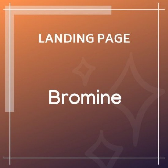 Bromine Online Learning Platform HTML5 Template